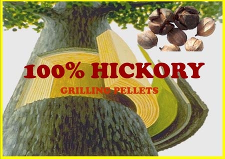 hickory grilling pellets