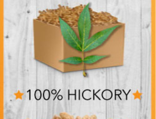 100% Hickory Grilling Pellets from Lumber Jack