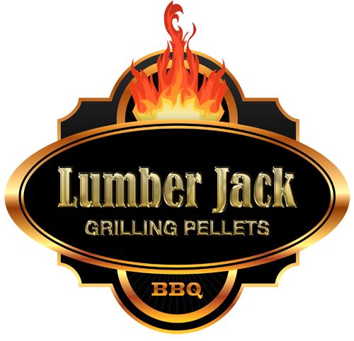 Woods Lumber Logo ~ Home of the real bbq wood pellets lumber jack
