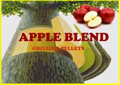 apple wood pellets