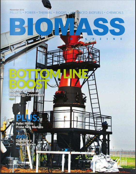 biomass magazine - Great Lakes Renewable Energy