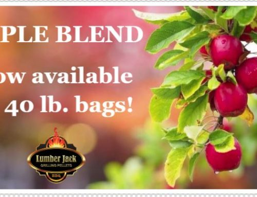 Apple Blend – now available in both 20# and 40# bags